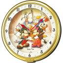 SEIKO セイコー クロック Disney ディズニータイム 掛け時計 ミッキー&フレンズ FW521G