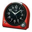 目覚まし時計 置き時計 セイコー クロック SEIKO NQ705R レッド