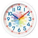 セイコークロック 知育時計 キッズ用掛け時計 子供部屋に KX617W