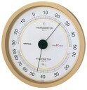 温度湿度計 温度計 湿度計 壁掛け 壁掛用 スーパーEX 高品質 EX-2748 シャンパンゴールド エンペックス empex