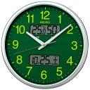 掛け時計 壁掛け時計 掛時計 カレンダー 温度湿度表示 温湿時計 電波時計 電波クロック セイコー クロック SEIKO KX235H