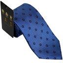 送料無料 DAKS ダックス ネクタイ ブルー d11020color5