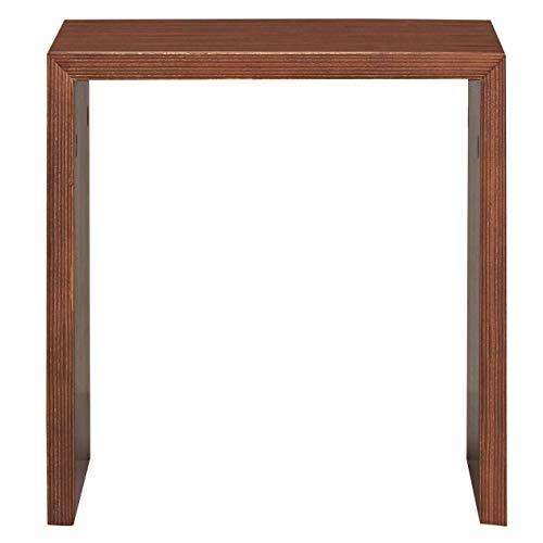 無印良品 コの字の家具・積層合板・ウォールナット材