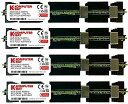 Komputerbay 32GB (4x 8GB) DDR2 PC2-6400F 800MHz ECC Fully Buffered FB-DIMM (240 ピン) 共 ヒートスプレッダ, 対して Apple コンピュータ MAC PRO 2008 3,1 (2.8 3.0 3.2)