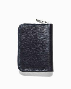 ホワイトハウスコックス【Whitehouse Cox】型番:S2534(ネイビー) 財布 ジップ付き二つ折り財布 リージェントブライドルレザー 牛革 男女兼用