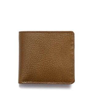 ホワイトハウスコックス【Whitehouse Cox】型番:S7532(オリーブ/タン) 財布 二つ折り財布 ツートーン ケンブリッジコレクション 豚革 男女兼用(オリーブ)(タン)