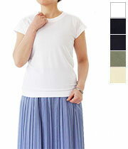 ホームスパン フレンチ スリーブ Tシャツ