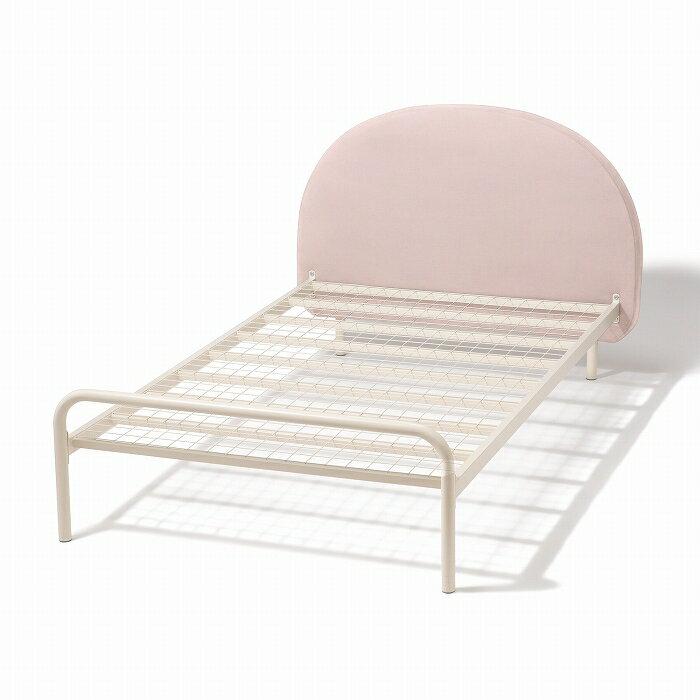 ミニュイ ベッド シングル ピンク