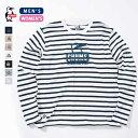 CHUMS チャムス Booby Face L/S T-Shirt ブービーフェイスロングスリーブTシャツ (ユニセックス) (CH01-1321) (CH11-1321) (2019春夏) (ネコポス対応商品) (20%OFF)