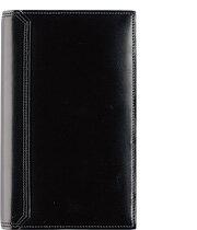 【ポケットサイズ(ナロー変形サイズ)】水染めコードバン・バインダーオープンタイプ【リング径:15mm 6穴】【ギフト】送料無料