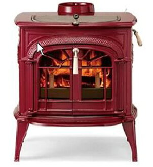 Wood-burning stoves, Vermont castings, steel castings INTREPIDII