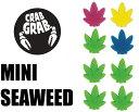 【超ポイントバック祭】あす楽 ネコポス対応 CRAB GRAB クラブグラブ MINI SEAWEED デッキパット
