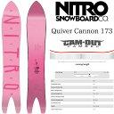 ナイトロ クイバーキャノン 18-19 NITRO QUIVER CANNON SNOWBOARD スノーボード 板 2018-2019