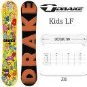 ドレイク キッズスノーボード エルエフ DRAKE LF SNOWBOARD スノーボード 板 2018-2019 キッズスノーボード