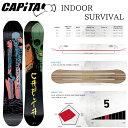 キャピタ インドア サヴァイヴァル CAPITA INDOOR SURVIVAL SNOWBOARD スノーボード 板 2018-2019 ツインチップオールラウンドボード