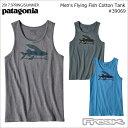 ネコポス発送可能【PATAGONIA パタゴニア タンクトップ】39069<Men's Flying Fish Cotton Tank メンズ・フライング・フィ...