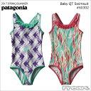 PATAGONIA子供用水着女の子用ワンピース水着60302<BabyQTSwimsuitベビー・QTスイムスーツ>子供服子ども服