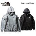 ショッピングノースフェイス ノースフェイス THE NORTHFACE スクエアロゴフーディ(メンズ)フードスエット Square Logo Hoodie NT61835