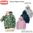 CHUMS チャムス CH00-1188<Booby Wappen Parka ブービーワッペンパーカー(パーカー|スウェット)>※取り寄せ品