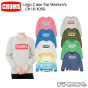 CHUMS チャムス CH10-1059<Logo Crew Top Women's ロゴクルートップ >※取り寄せ品