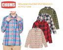 樂天商城 - 【超ポイントバック祭】CHUMS チャムス 帽子 CH12-1048<Mountain Hut Nel Shirt Women's- マウンテンハットネルシャツ >※取り寄せ品