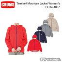 樂天商城 - 【超ポイントバック祭】CHUMS チャムス CH14-1057<Teeshell Mountain Jacket Women's ティーシェルマウンテンジャケット >※取り寄せ品