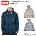 CHUMS チャムス メンズ トップス CH04-1107<Teeshell Mountain Parka ティーシェルマウンテンパーカー(ジャケット/マウンテンパーカー)> ※取り寄せ品