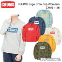 女裝 - CHUMS チャムス CH10-1116<CHUMS Logo Crew Top Women's チャムスロゴクルートップ>※取り寄せ品
