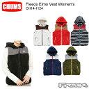 CHUMS チャムス レディース ジャケット CH14-1124<Fleece Elmo Vest Women 039 s フリースエルモベスト(アウター/フリース)>※取り寄せ品