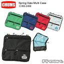 CHUMS チャムス ポーチ/ペンケース CH60-2499<Spring Dale Multi Case スプリングデールマルチケース(ポーチ/ペンケース)>※取り寄せ品