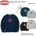 CHUMS チャムス CH01-1321<Booby Face L/S T-Shirt ブービーフェイス長袖Tシャツ(トップス/カットソー)>※取り寄せ品