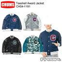 ショッピングスタジャン CHUMS チャムス メンズ ジャケット CH04-1191<Teeshell Award Jacket ティーシェルアワードジャケット>※取り寄せ品