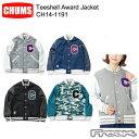 ショッピングチャムス CHUMS チャムス レディースジャケット CH14-1191<Teeshell Award Jacket ティーシェルアワードジャケット>※取り寄せ品