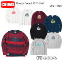 CHUMS チャムス CH01-1430<Booby Face L/S T-Shirt ブービーフェイス長袖Tシャツ(トップス/カットソー)>※取り寄せ品