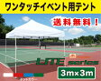 イベント用テント 集会用テント 3m×3mフリーライズ LITEシリーズ【送料無料】イベント テント