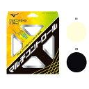 軟式用 ミズノ Mizuno マルチファイバーコントロール ソフトテニス テニス用品 ガット ストリングス 63JGN902