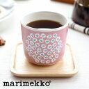 【日本限定/単品販売】marimekko(マリメッコ) PUKETTI(プケッティ) ラテマグ ピンク