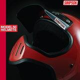 【即納】シンプソンヘルメット M50 SIMPSON Model 50復刻版 バイザー別売り【RCP】