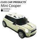 CLICK CAR MOUSE ミニクーパーS クリックカーマウス MINI COOPER S ペッパーホワイト ブラックジャック 日本限定 光学式ワイヤレスマウ..