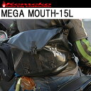 【kemeko】ケメコ MEGA MOUTH-15L メガマウス 防水メッセンジャーバッグ ツーリングサブバッグ【あす楽対応】05P03Dec16
