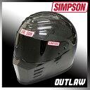 【特典付き】購入特典付き! SIMPSON OUTLAW フルフェイスヘルメット カーボン