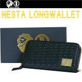 【送料無料】NESTA BRAND ネスタブランド WALLET ロングウォレット BLACK 小銭入れ カードポケット 長財布【あす楽対応】05P03Dec16