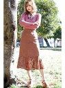 [Rakuten Fashion]◎《Sシリーズ対応商品》ハイウエストレースマーメードス FREE'S MART フリーズ マート スカート スカートその他 ブラウン ブラック ホワイト【送料無料】