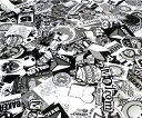 ステッカーボム 欧米 ヘラフラ スタンス JDM USDM ロゴ キャラクター カーラッピングフィルム ステッカー 重ね張り Bタイプ152x50cm