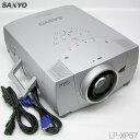 □■□SANYO 5500lm プロジェクター LP-XP57 ランプ502h 推奨品 【中古】 // 鮮明な投写映像!即使用可能!