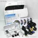 □■□EPSON 3100lm HDMI プロジェクター EB-485WT ランプ点灯時間 (節電モード、オフ:303h/オン:200h)推奨品【中古】※ リモコン 、電子ペン、取扱説明書類等付属!
