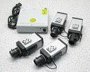 □■LG/ジーネット 防犯カメラ L320-BN×4台 + 電源ユニット 2520 【中古】