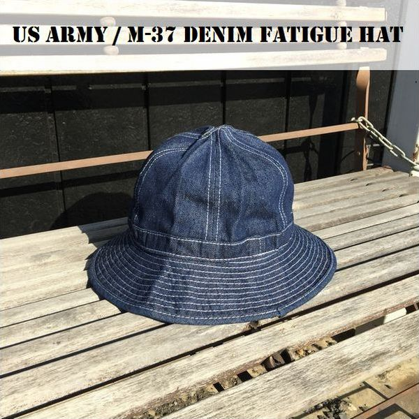 US ARMY M-37 DENIM FATIGUE HAT /デニムファティーグハット