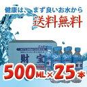 【送料無料】財宝温泉500ml 25本