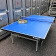[中古]【SAN-EI】セパレート式卓球台ネット、カウンター付き